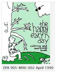 Happy Earth Day Coloring and Activities Book