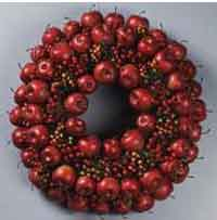 Berry Apple Wreath