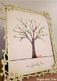 Family Tree Print (Printable Craft!)