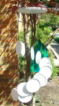Recycled Wind Chimes