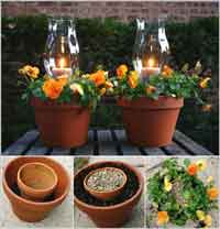Candle Planters