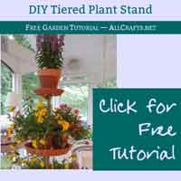 DIY Tiered Planter Plant Stand
