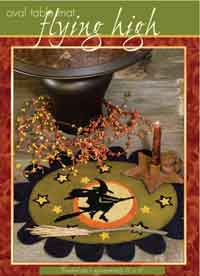 Halloween Witch Table Mat Pattern