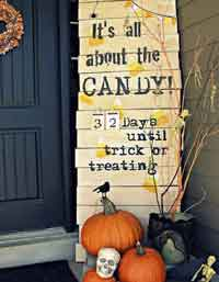 Halloween Candy Countdown