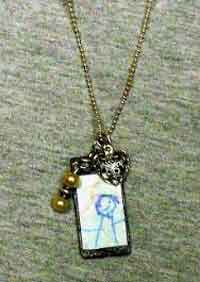 Kids Art Pendant