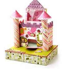 Cardboard Princess Castle
