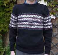 Marcus - Fitted Fair Isle Sweater