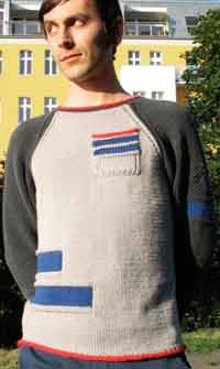 Patch Pocket Raglan Sweater
