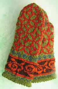 Tiffany fairisle mittens