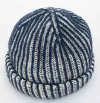 2-Color Brioche Hat