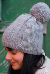 Over 200 free hat knitting patterns at allcrafts free crafts ariosa pom pom hat dt1010fo
