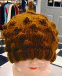 The Olive Bobbles Hat