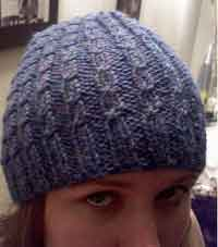 Free Crochet Pattern For Beanie With Bill : Over 200 Free Hat Knitting Patterns at AllCrafts.net ...
