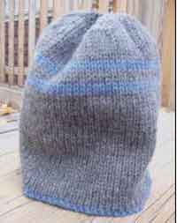 Free Knitting Pattern Reversible Hat : Over 200 Free Hat Knitting Patterns at AllCrafts.net ...