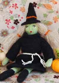 Haloween Witch Doll