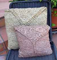 Raffia Pillow Covers