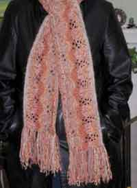 Two-Way Lace Scarf