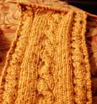 Lemon Curd Scarf