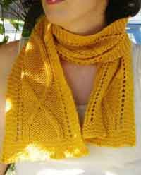 Kansas Harvest Scarf