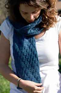 Stepping Stitches Scarf