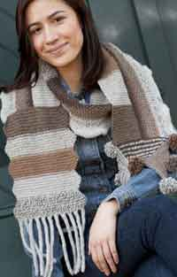 MountainTop Patchwork Scarf