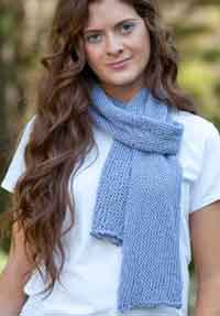 Free Knitting Pattern For Tube Scarf : Over 300 Free Knitted Scarf Knitting Patterns at AllCrafts.net