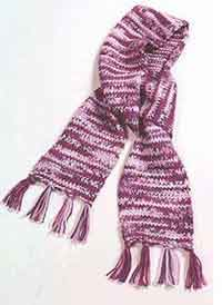 Short and Sweet Knit Scarf