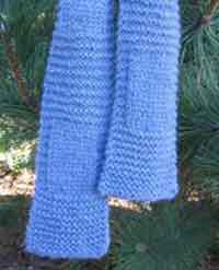 Garter & Stockinette Scarf