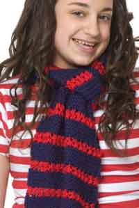 Heroic Stripes Scarf