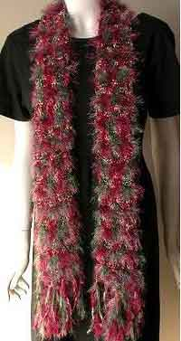 Victorian Christmas Scarf