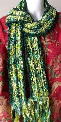 Rave - Cotton Chenille Scarf