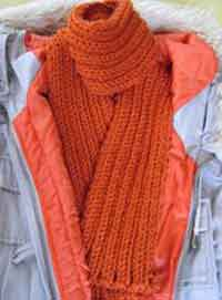 Orange Bliss Scarf