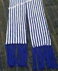 Long Stripes Winter Scarf