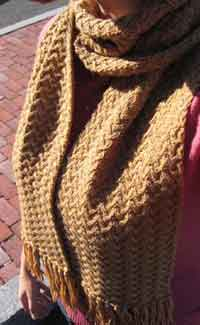 Shifting Sands Scarf