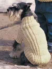 Free Easy Knitting Patterns For Medium Dog Jumpers : Over 100 Free Pet Knitting Patterns at AllCrafts.net