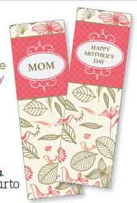 Mothers Day Bookmarks and Coloring Sheet