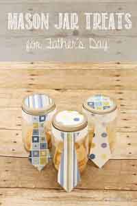 Mason Jar Treats for Father's Day