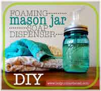 foaming mason jar soap dispenser