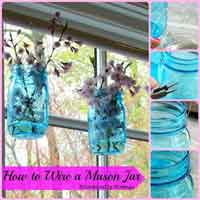 How to Wire a Mason Jar