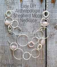 Anthroplogie Shepherd Moon Necklace