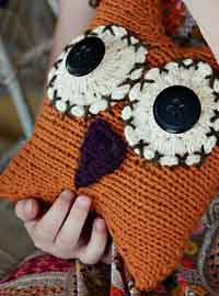 owl toy kniting pattern