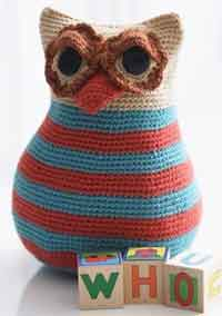 owl toy pattern to crochet