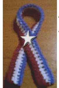 Patriotic Lapel Ribbon