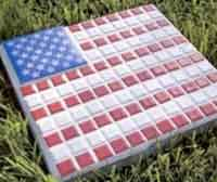 Flag Stepping Stone
