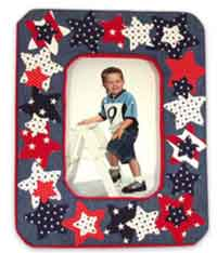 Patriotic Star Frame