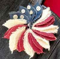 Mini Patriotic Wreath Pin Tutorial