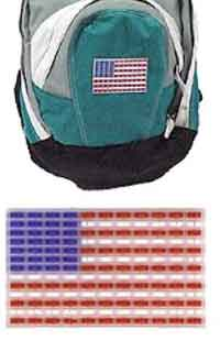 Backpack Flag