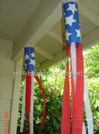 Red, White & Blue Windsock