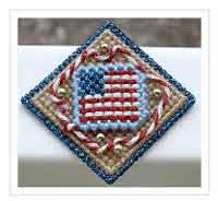 Patriotic Flag Pin
