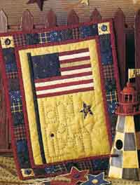 Land of Liberty Wallhanging